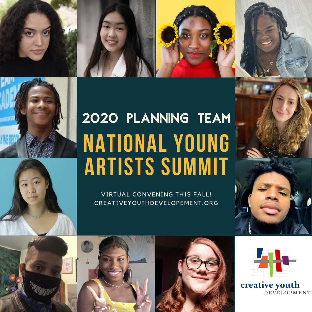 Faces of the 2020 National Young Artists Summit planning team