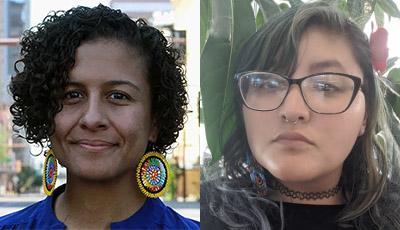 Ashley Hare (left) and Paula Ortega (right)
