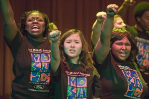Mosaic Singers of Detroit, MI in concert. Photo copyright Jim West.
