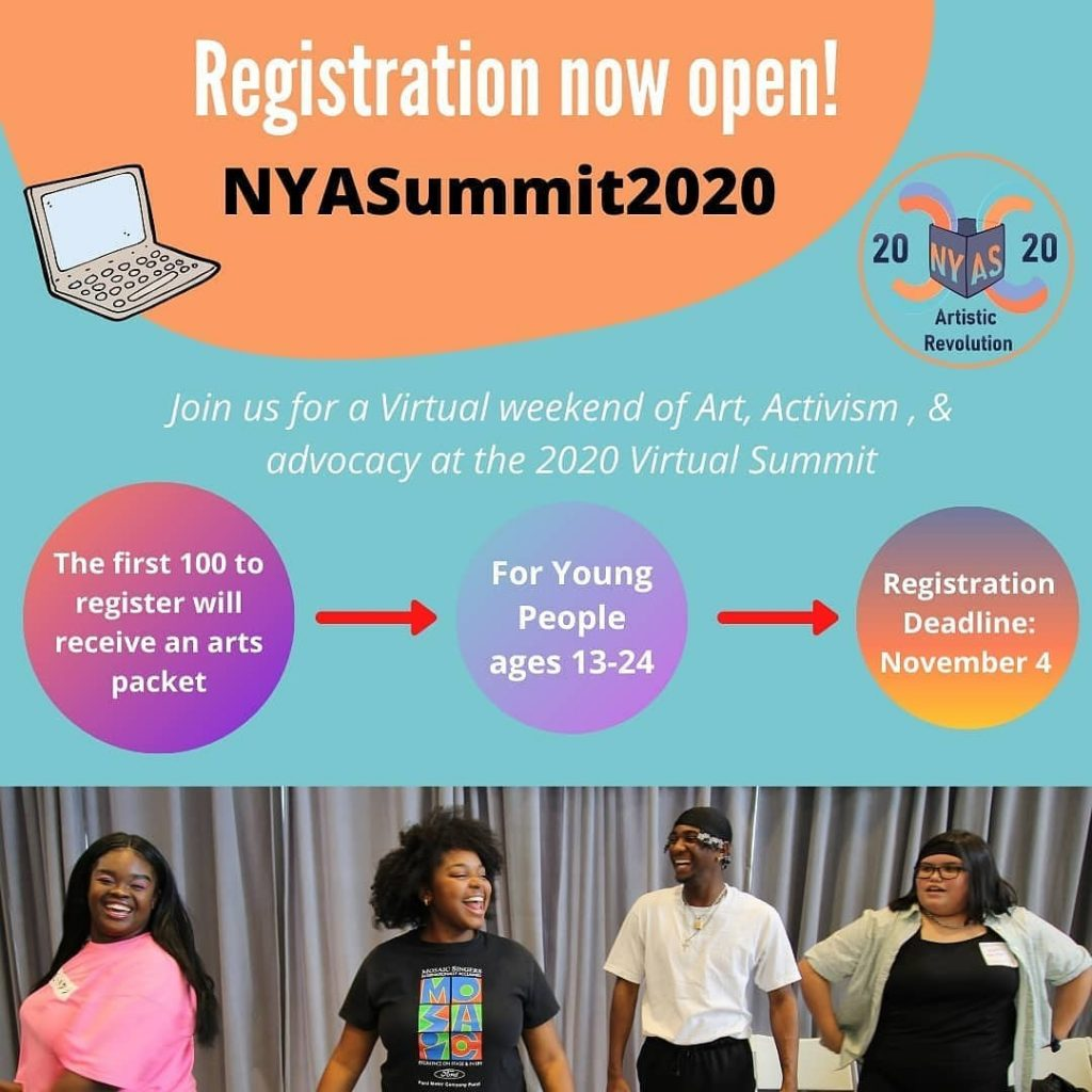 graphic for National Young Artist Summit