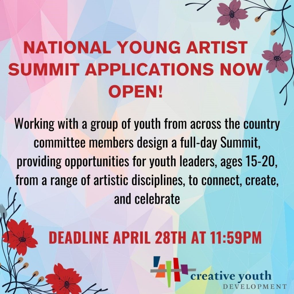 National Young Artists Summit Application Now Open